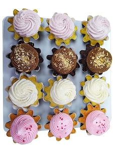 12 Assorted Cupcakes