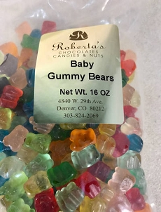 Baby Gummy Bears 16oz